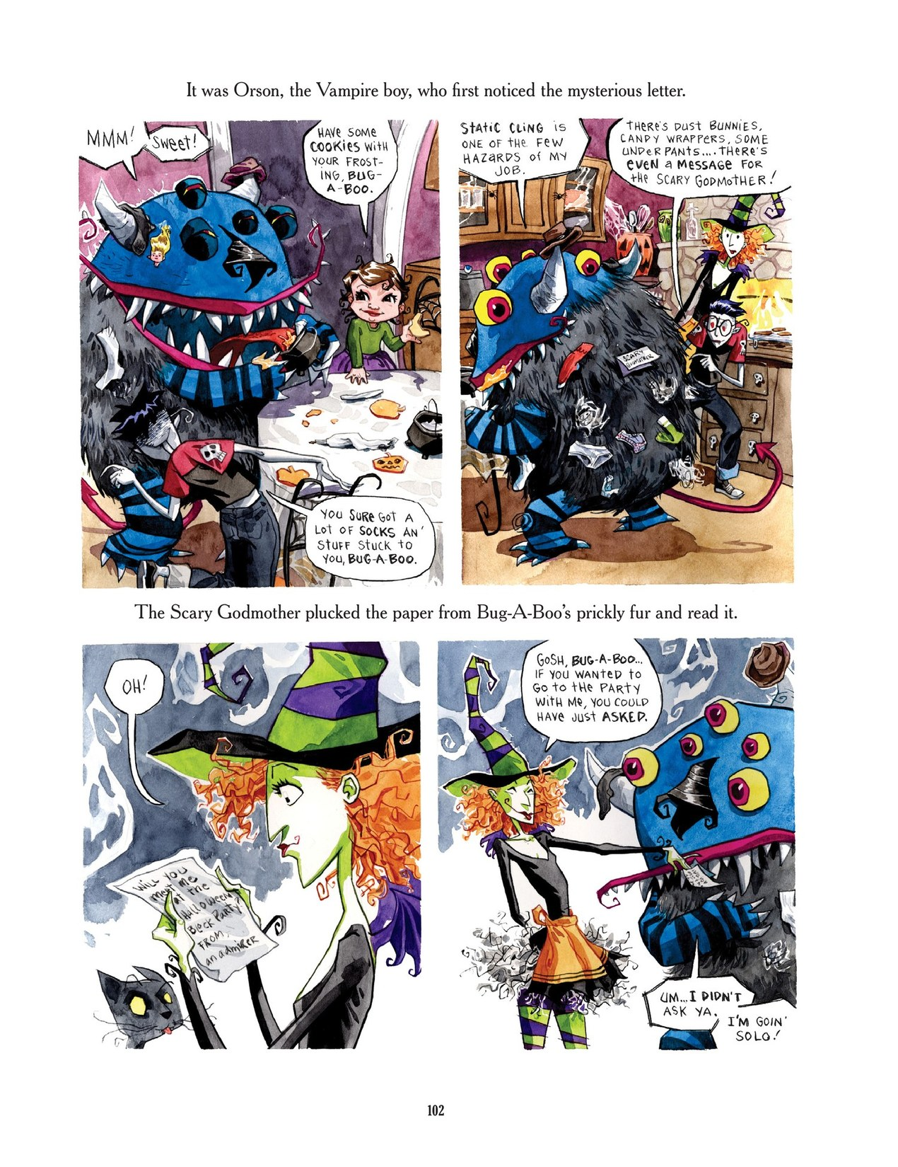 Read online Scary Godmother comic -  Issue # TPB - 102