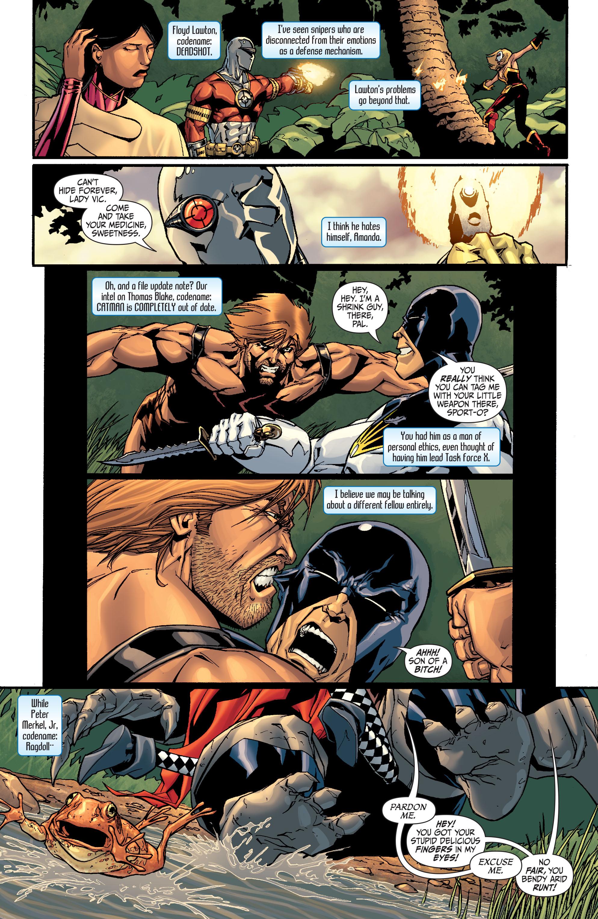 Read online Secret Six (2008) comic -  Issue #27 - 4
