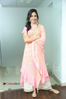 Actress Ritu Varma Pos in Beautiful Pink Anarkali Dress at at Keshava Movie Interview .COM 0173.JPG