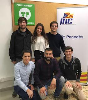 Ejecutivo comarcal alt Penedés, JNC, Bernat Catasús