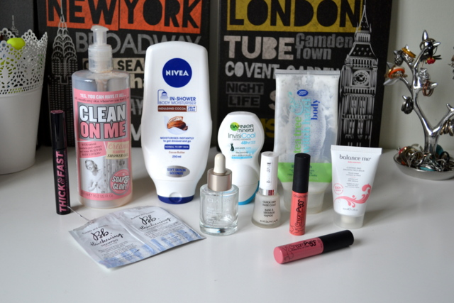 October Empties!