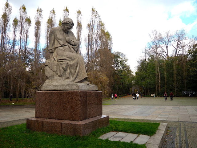 Soviet Memorial, Treptower Park, Berlin, Germany