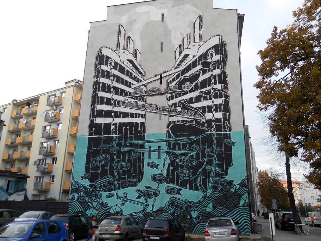 Murales a Gdynia