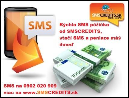 SMS pika na 1 - 30 dn, peniaze ihne
