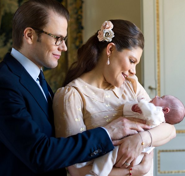 Princess Estelle of Sweden born 23 February 2012 is the first child of Crown Princess Victoria and Prince Daniel