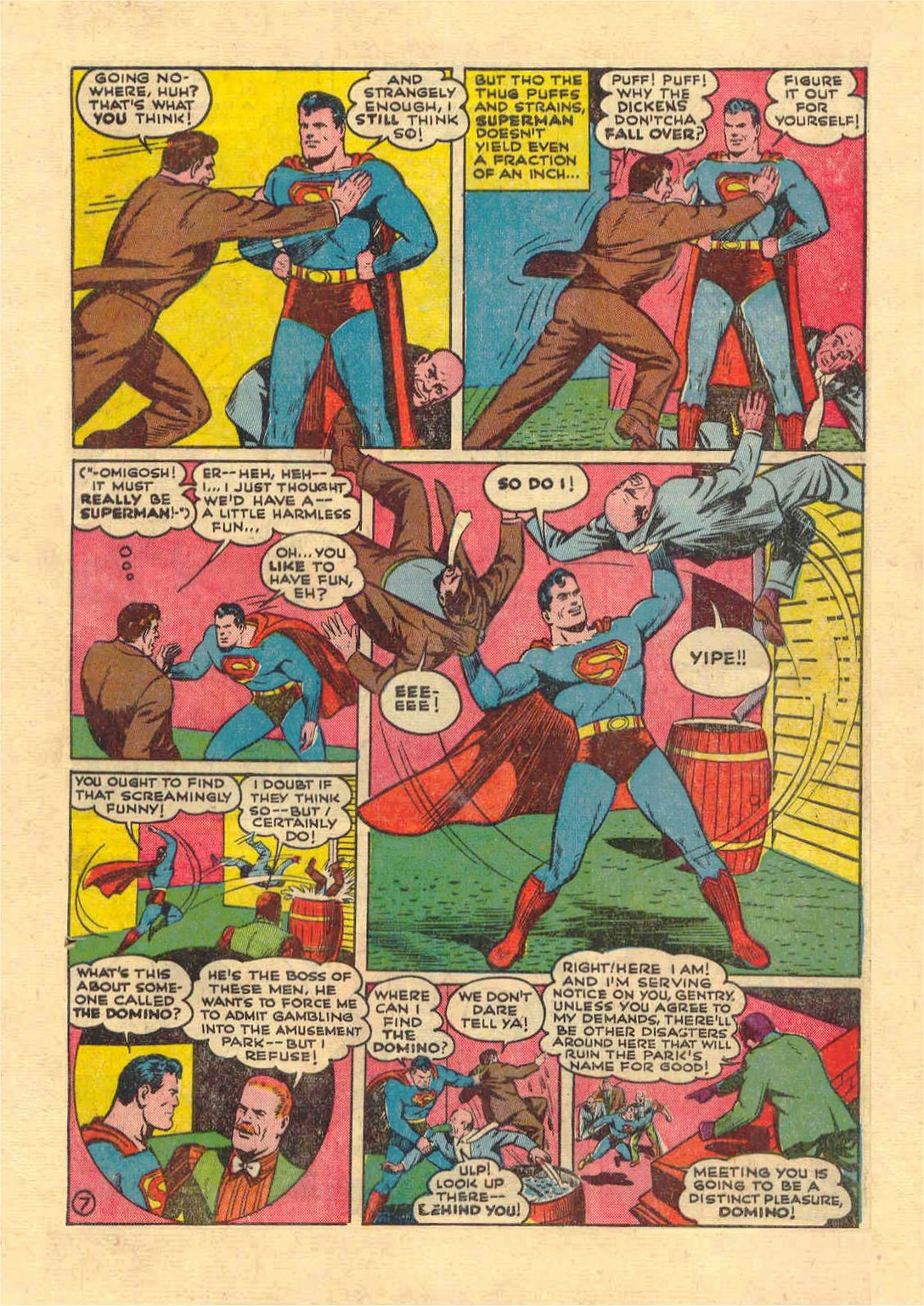 Read online Action Comics (1938) comic -  Issue #46 - 8