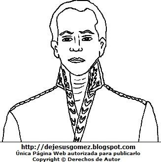 Dibujo de José Faustino Sánchez Carrión para colorear pintar imprimir. Imagen de José Faustino Sánchez Carrión fue hecho por Jesus Gómez