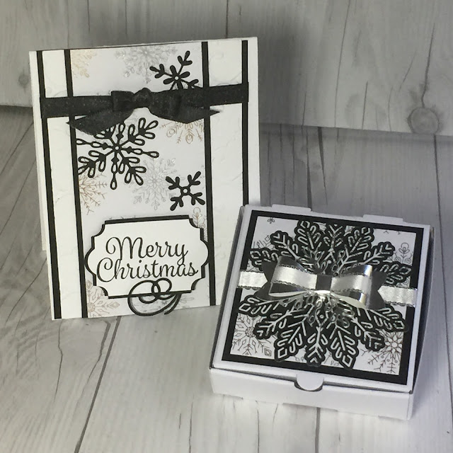 Swirly Snowflakes and Year of Cheer Specialty Designer Series Paper