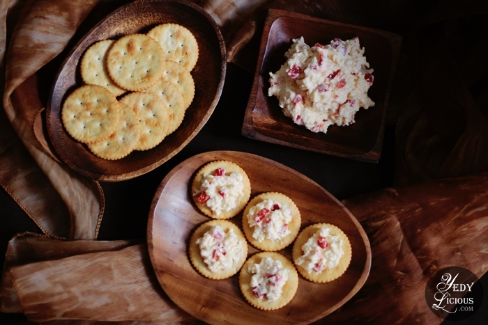 Pimiento Cheese Spread Easy Recipe with KitchenAid Artisan Mini Stand Mixer, KitchenAid Recipe List, KitchenAid Artisan Mini Stand Mixer Blog Review, Best Top Easy Recipe YedyLicious Manila Food Blog Philippines Recipe Using KitchenAid Stand Mixer Yedy Calaguas Food Styling Food Photography