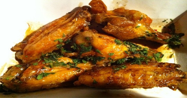 Adobo-Glazed Buffalo Wings Recipe