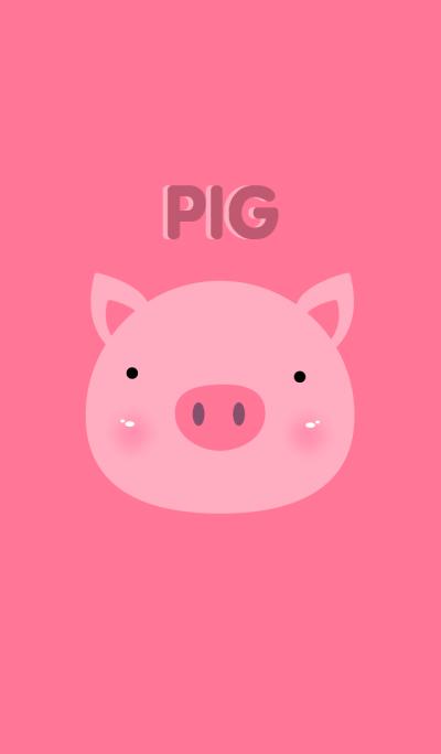 Cute Pig theme v.2