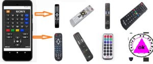 How to use phones as universal control remote