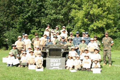 Boot Camp for Kids at PA Military Museum