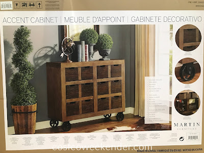 Costco 2000709 - The Martin Furniture Accent Cabinet is great for any home living space