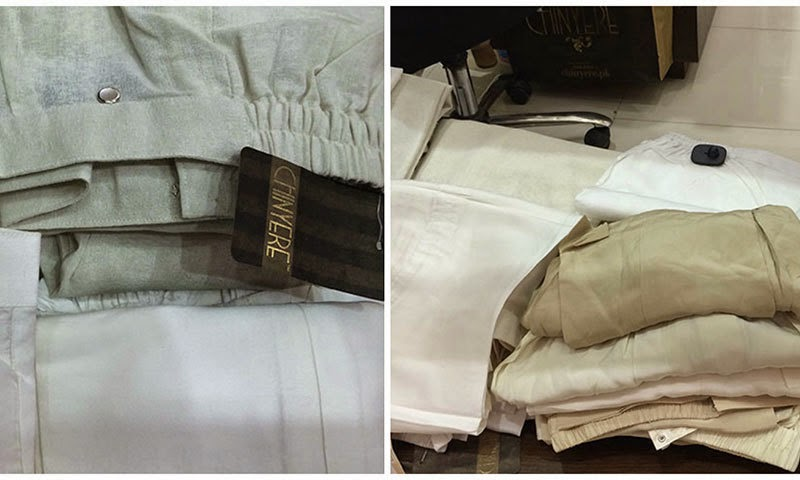 Chinyere designer clothing ready to wear trousers Pakistan
