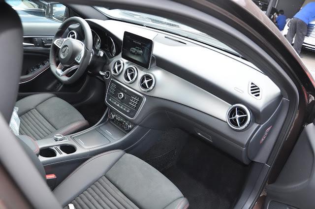 Mercedes GLA 250 4MATIC thiết kế rộng rãi, thoải mái