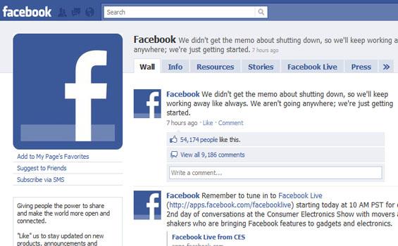 Facebook merupakan situs jejaring sosial yang paling popular di dunia ketika ini Tampilan Facebook Dari Awal Sampai Sekarang