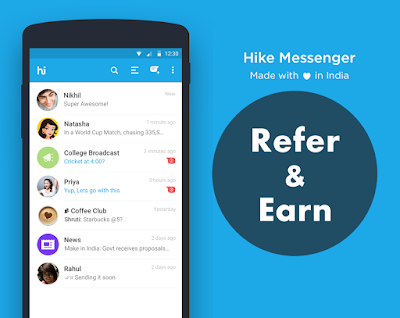 Free Download Hike Messenger 4.3.0.83 APK for Android