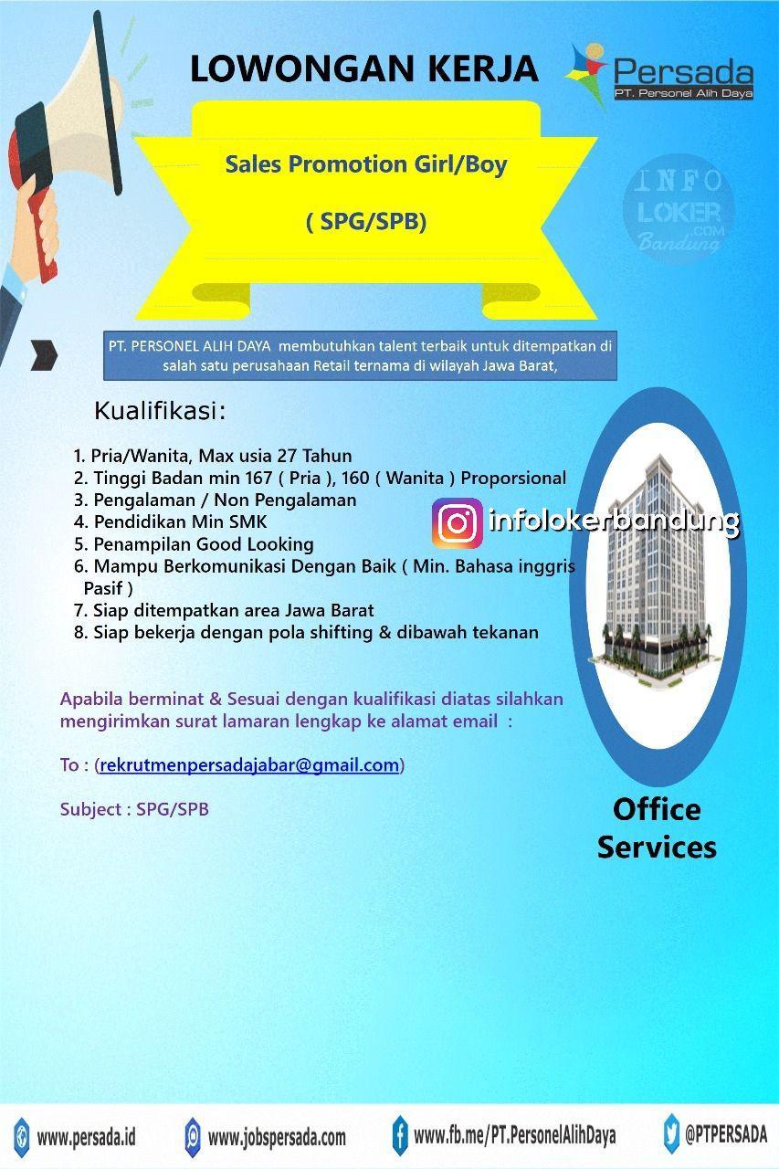 Lowongan Kerja Persada Jabar Bandung Desember 2017 width=