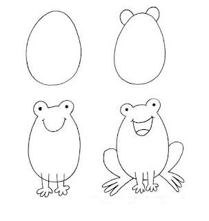 Sketsa Ilustrasi Binatang