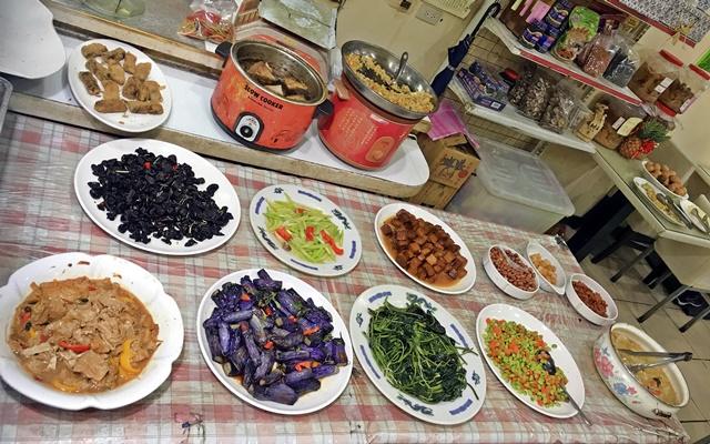 慈心健康素食自助餐~台北中山區素食自助餐、捷運南京復興站