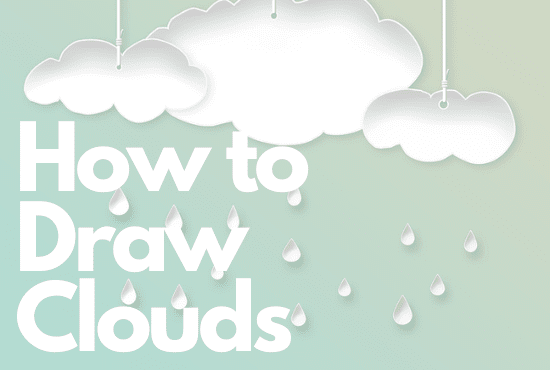 How to make a cloud drawing - Really Easy Cloud Drawing -2020