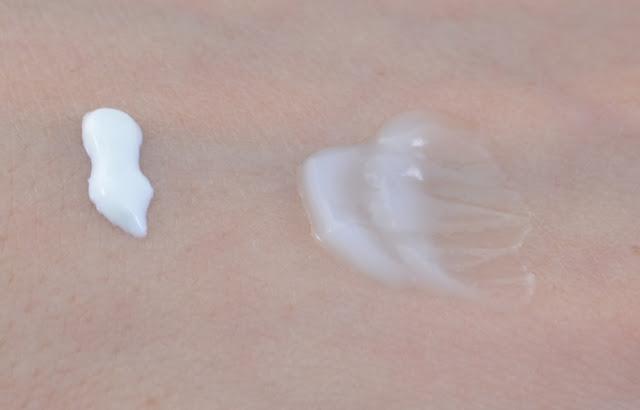 Garnier skin activ hydra bomb Tages und Nachtpflege Swatches