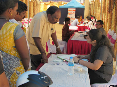 Marwari Yuva Manch Organizes Cancer Detection Camp in St. Mira's High School, BTM,