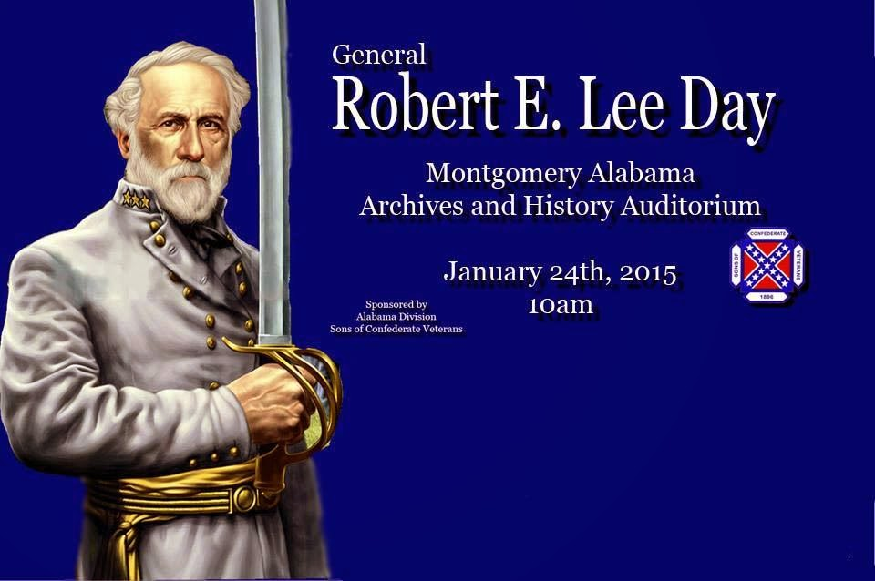 Alabama Flaggers Blog General Robert E Lee Day Montgomery