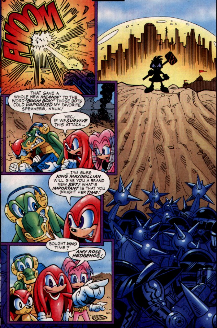 Read online Sonic The Hedgehog comic -  Issue #132 - 11