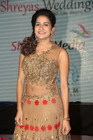 Jenny in brown transparent sleeveless anarkali dress at Shamanthakamani pre release function ~  Exclusive 026.JPG