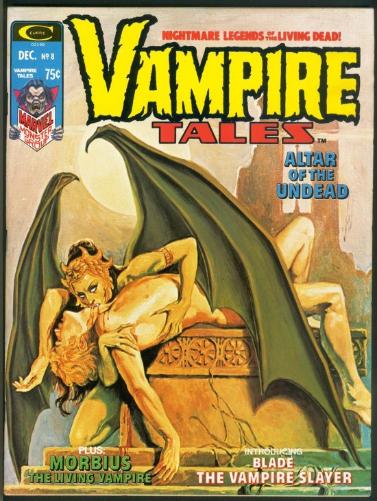 Portada de Vampire Tales #8, obra de Jose Antonio Domingo
