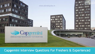 Capgemini Interview Questions