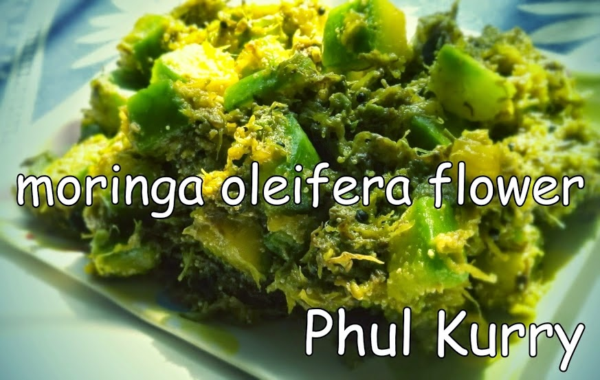 Sojne Phul Tarkari - Moringa Oleifera Flower Curry  Read more: Indian Food Cooking | Bangla Rannar PalaParbon http://www.foodcooking-inspiration.in/#ixzz3VqB3cbLV  Indian Food Cooking | Bangla Rannar PalaParbon  Under Creative Commons License: Attribution  Follow us: @fast_n_feast on Twitter | onlinekolkata on Facebook