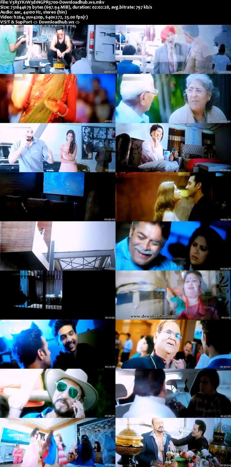 Veerey Ki Wedding 2018 Hindi 700MB Pre-DVDRip x264