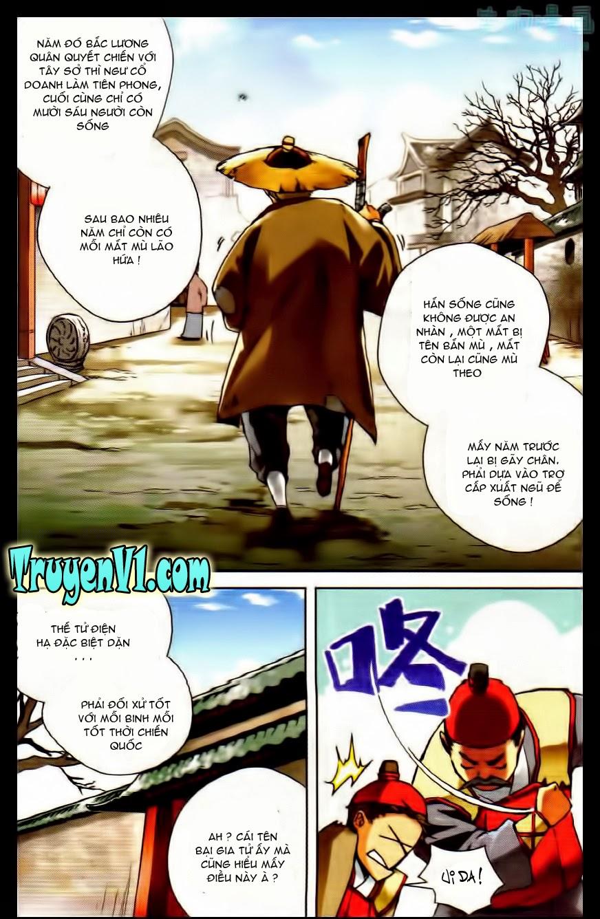 Tuyết Trung Hãn Đao Hành Chap 8