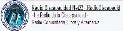 Radio Discapacidad Net23  Logo Radio Discapacidad Net23 - Radioafición RadioDiscapacid