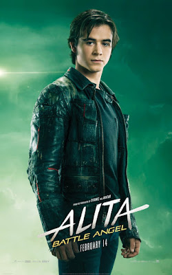 Alita Battle Angel Rosa Salazar Movie Poster 9