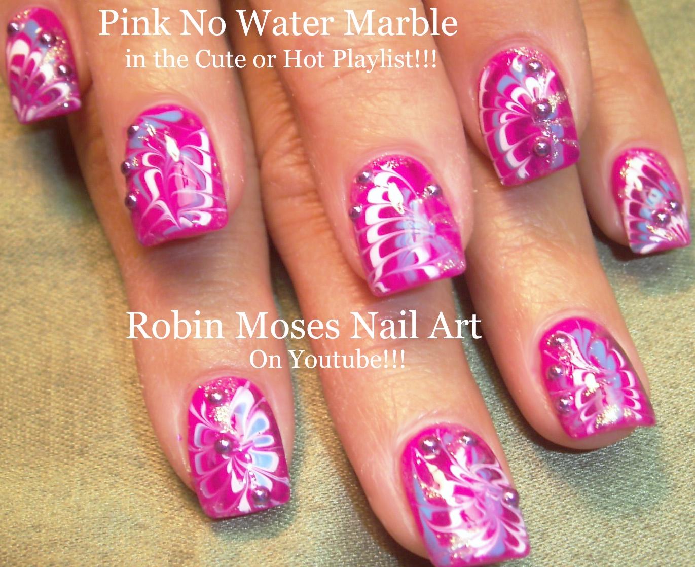 Robin moses nail art no water marble nail art design tutorial monday february 29 2016 prinsesfo Gallery