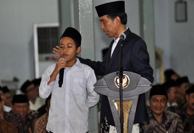 Ma'ruf Amin Salah Lagi, Jokowi Ternyata Cuma Santri Dari Santrinya Ponpes Sukorejo