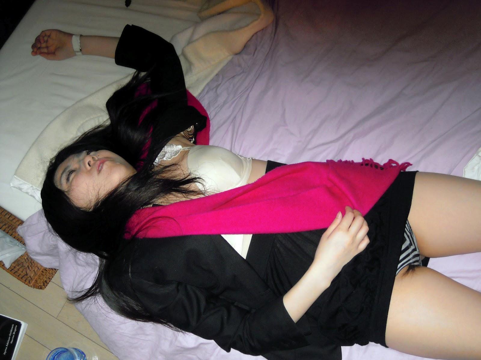 Japan drunk girl