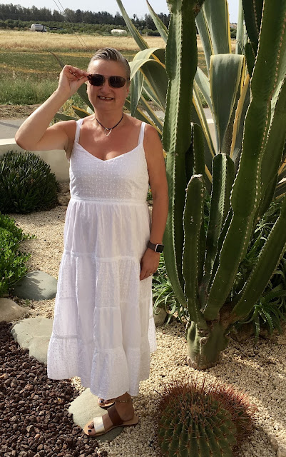 madmumof7 in summer fashion what I wore outfit in Cyprus