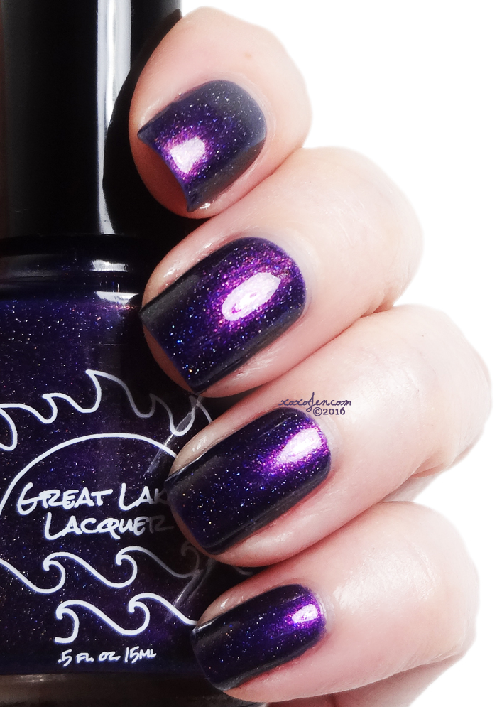 xoxoJen's swatch of Great Lakes LacquerFU2016