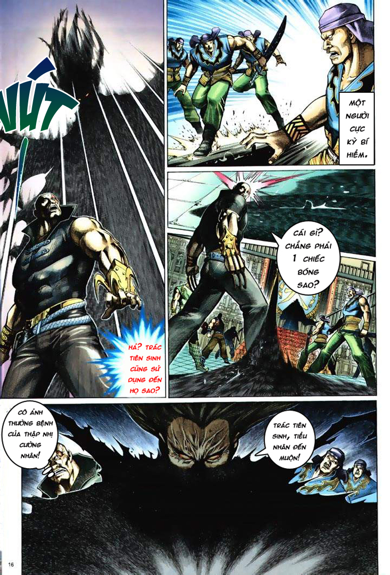 Anh hùng vô lệ Chap 6: Anh hùng hữu lệ trang 16