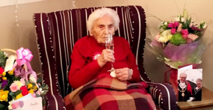 105-Year-Old Former Wartime Nurse Says Avoiding Men Is The Secret For A Long Life