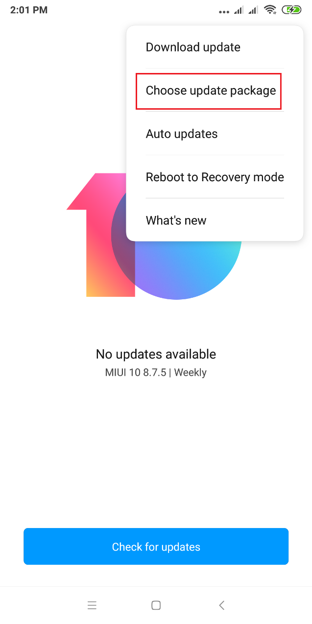 Cara Downgrade / Roll Back MIUI 10 ke MIUI 9 Semua Xiaomi