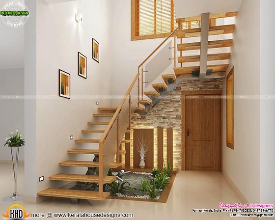 under staircase design