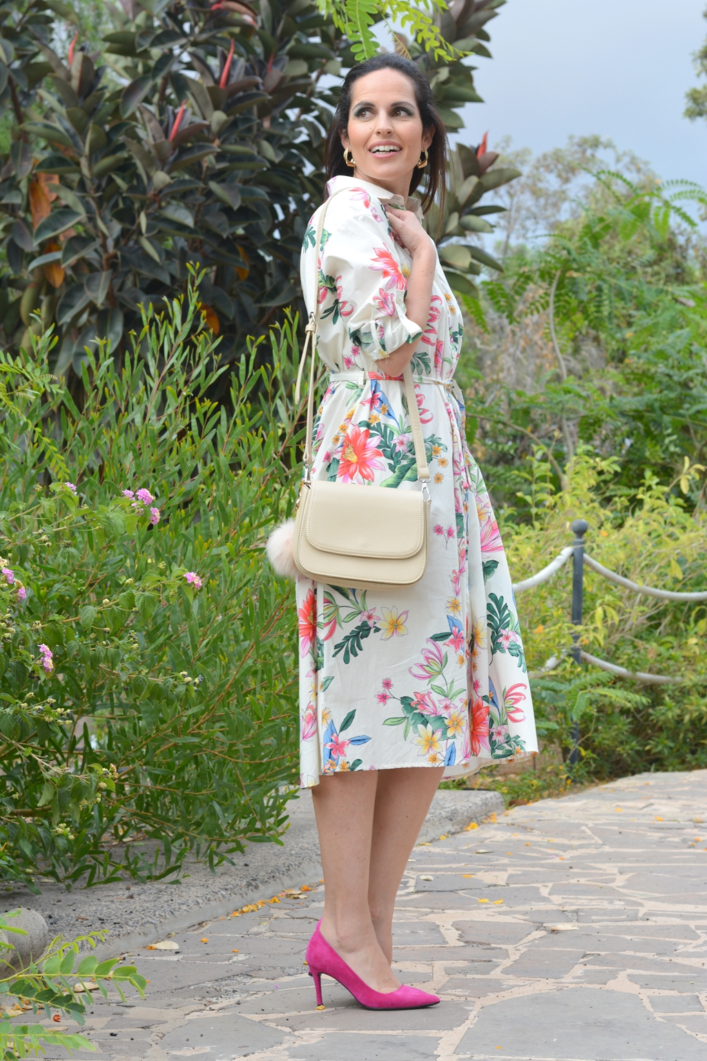 flowers-dress-zara-look-streetstyle