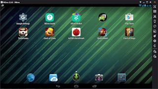 memu-emulator android di pc terbaik ringan