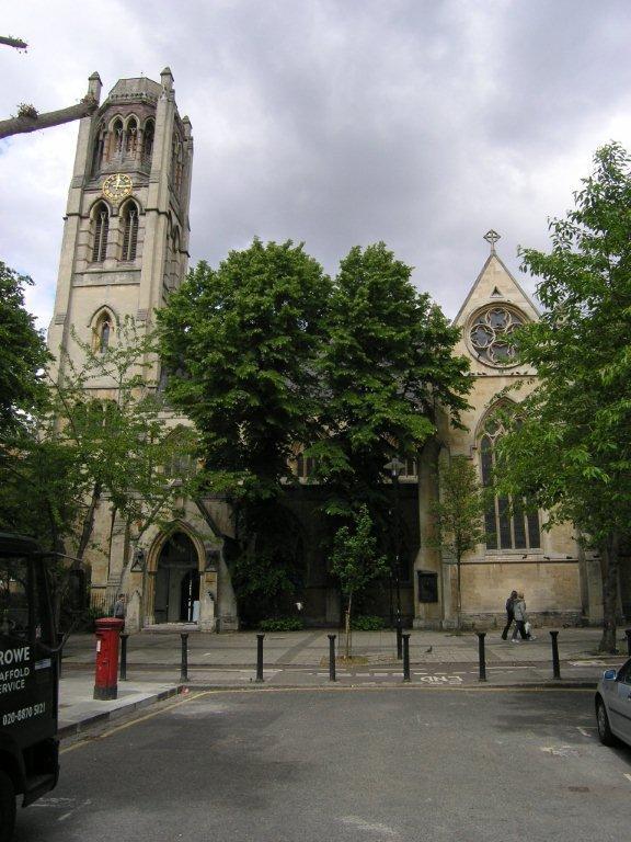 Notting Hill London: ChurchCrawls: All Saints, Notting Hill, London